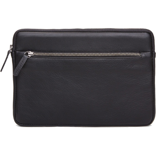 Cecilia Gallery Montana Leather Sleeve for iPad mini 4 (Black)
