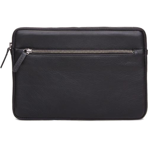 Cecilia Gallery Montana Leather Sleeve for iPad mini 4 (Black)