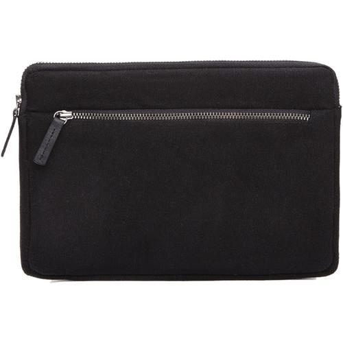 Cecilia Gallery Waxed Cotton Sleeve for iPad mini 4 (Black)