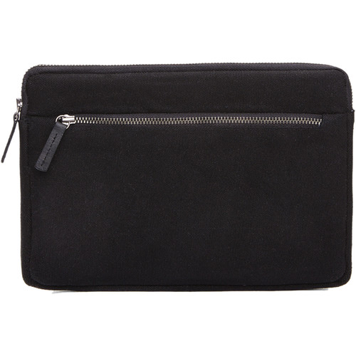 Cecilia Gallery Waxed Cotton Sleeve for iPad mini 4 (Black)