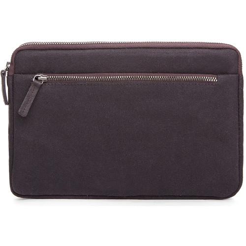 Cecilia Gallery Waxed Cotton Sleeve for iPad mini 4 (Espresso)