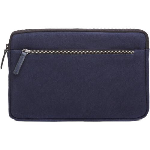 Cecilia Gallery Waxed Cotton Sleeve for iPad mini 4 (Midnight)