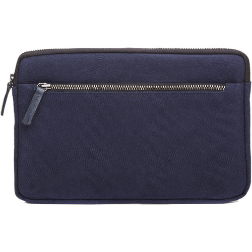 Cecilia Gallery Waxed Cotton Sleeve for iPad mini 4 (Midnight)
