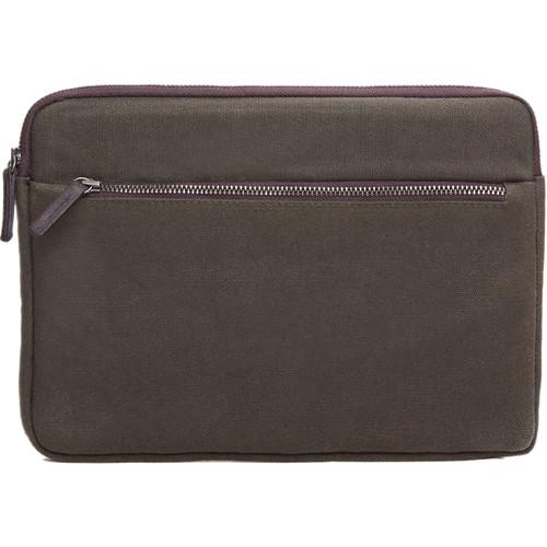 Cecilia Gallery Waxed Cotton Sleeve for iPad mini 4 (Pine)
