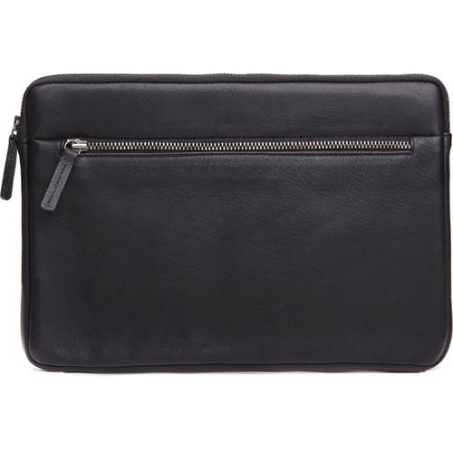 Cecilia Gallery Montana Leather Sleeve for iPad 2 (Black)