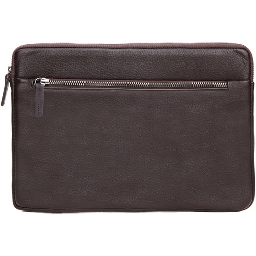 Cecilia Gallery Montana Leather Sleeve for iPad 2 (Cocoa)