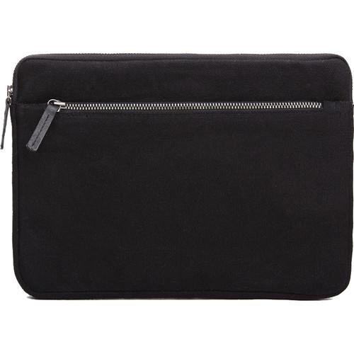 Cecilia Gallery Waxed Cotton Sleeve for iPad 2 (Black)