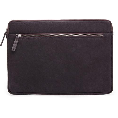 Cecilia Gallery Waxed Cotton Sleeve for iPad 2 (Espresso)