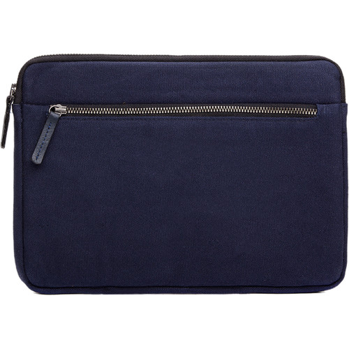 Cecilia Gallery Waxed Cotton Sleeve for iPad 2 (Midnight)