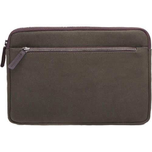 Cecilia Gallery Waxed Cotton Sleeve for iPad 2 (Pine)