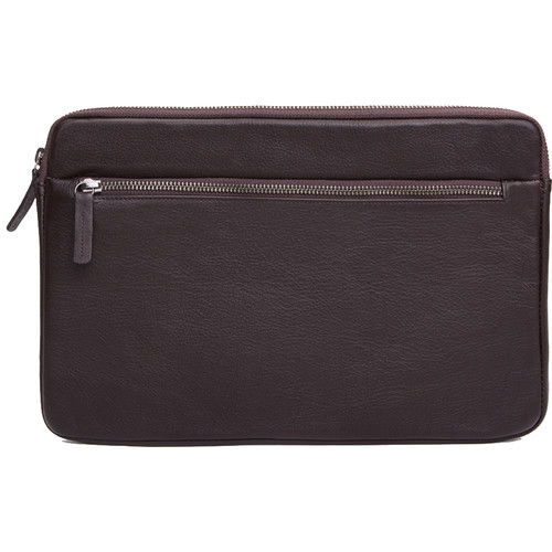 """Cecilia Gallery Montana Leather Sleeve for 11"""" MacBook (Cocoa)"""
