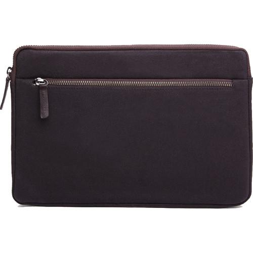 """Cecilia Gallery Waxed Cotton Sleeve for 11"""" MacBook (Espresso)"""