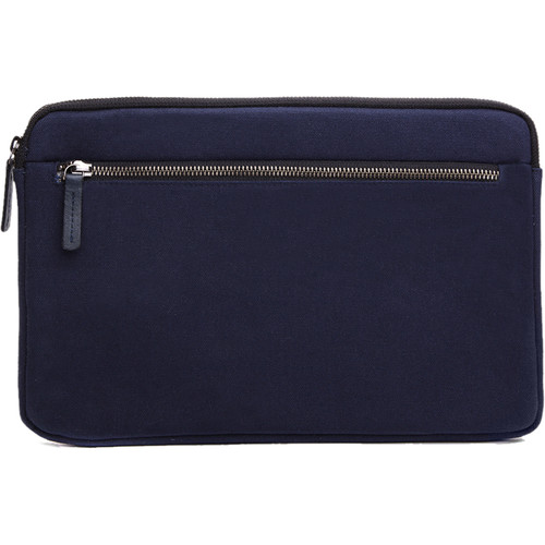 """Cecilia Gallery Waxed Cotton Sleeve for 11"""" MacBook (Midnight)"""