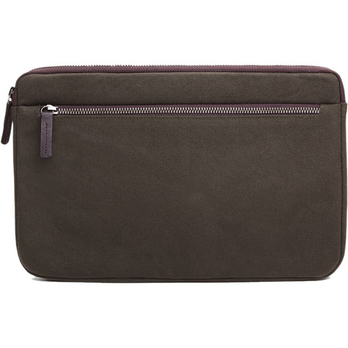 "Cecilia Gallery Waxed Cotton Sleeve for 11"" MacBook (Pine)"