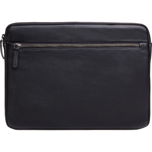 """Cecilia Gallery Montana Leather Sleeve for 13"""" MacBook Pro (Black)"""