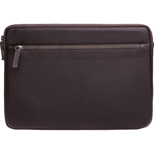 """Cecilia Gallery Montana Leather Sleeve for 13"""" MacBook Pro (Cocoa)"""