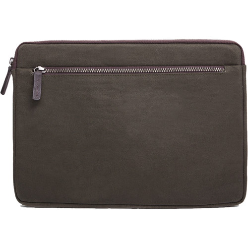 "Cecilia Gallery Waxed Cotton Sleeve for 13"" MacBook Pro (Pine)"