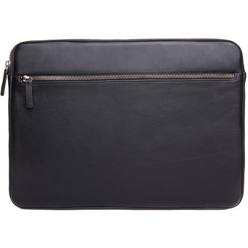 """Cecilia Gallery Montana Leather Sleeve for 15"""" MacBook Pro (Black)"""