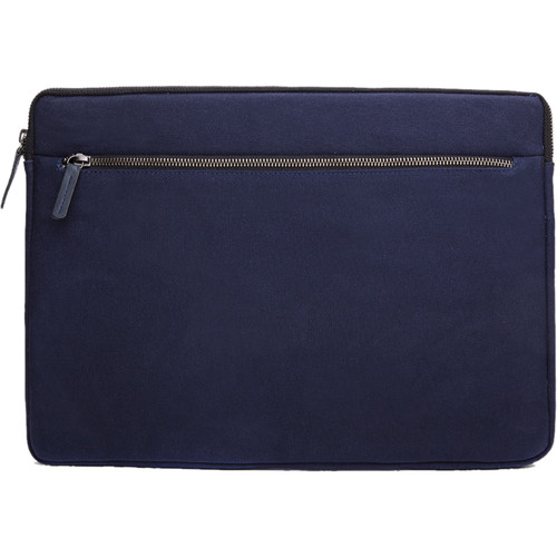 "Cecilia Gallery Waxed Cotton Sleeve for 15"" MacBook Pro (Midnight)"