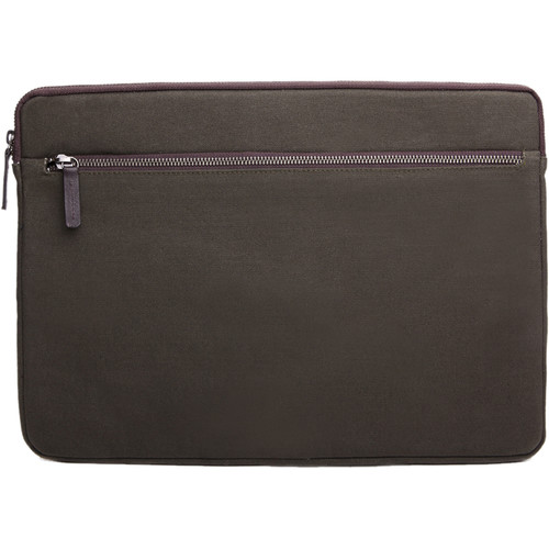 "Cecilia Gallery Waxed Cotton Sleeve for 15"" MacBook Pro (Pine)"