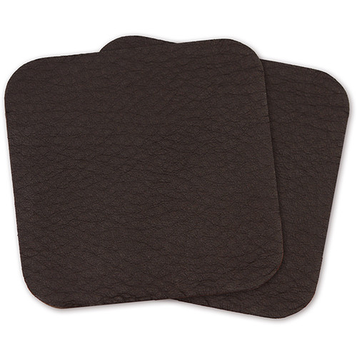 Cecilia Gallery Re-Stick Leather Laptop Wrist Pads (Set of Two Pads, Montana Cocoa)