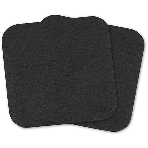 Cecilia Gallery Re-Stick Leather Laptop Wrist Pads (Set of Two Pads, Montana Black)