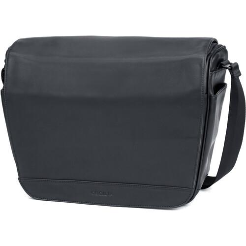 Cecilia Gallery Lambert 12L Camera Bag (Black, Leather)