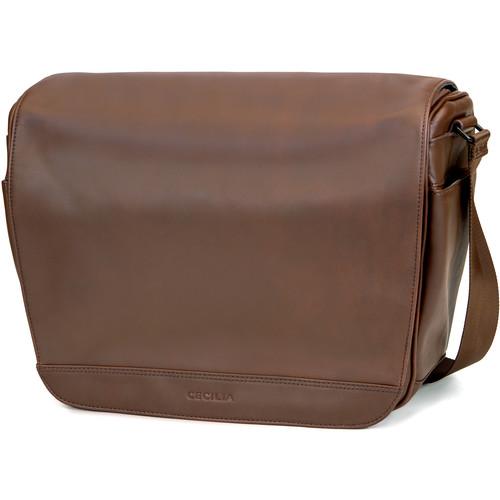 Cecilia Gallery Lambert 12L Camera Bag (Chestnut, Leather)