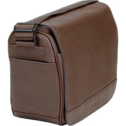Cecilia Gallery Tharp 8L Camera Bag (Chestnut, Leather)