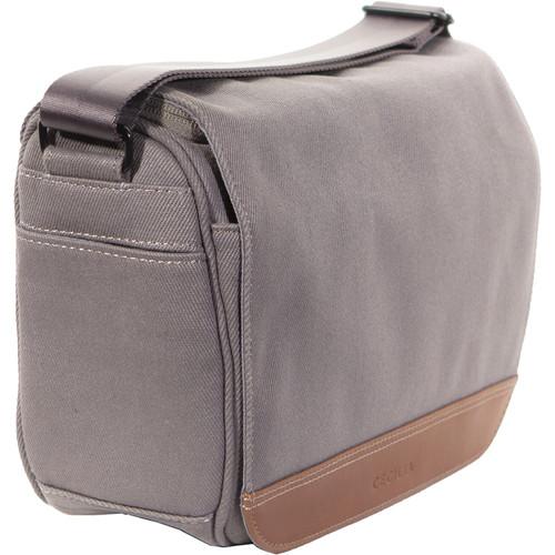 Cecilia Gallery Tharp 8L Camera Bag (Charcoal, Cotton Canvas)