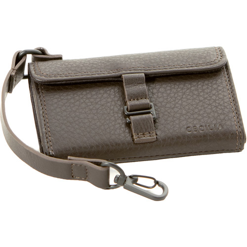 Cecilia Gallery SD Memory Card Wallet (Brown Leather)