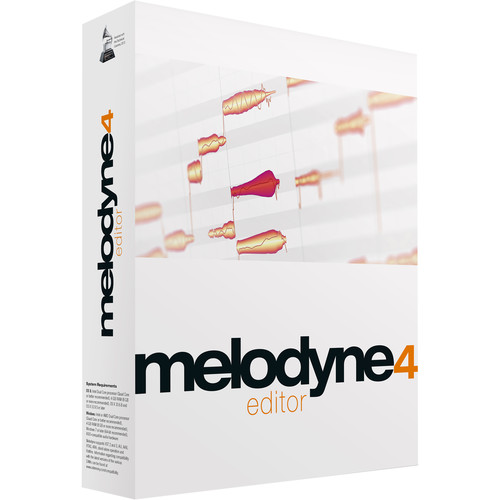 Celemony Melodyne Editor 4 - Polyphonic Pitch Shifting/Time Stretching Software (Download)