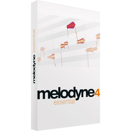 Celemony Melodyne Essential 4 - Pitch Shifting/Time Stretching Software (Download)