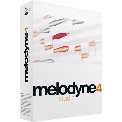 Celemony Melodyne Studio 4 (Upgrade from Essential) - Polyphonic Pitch Shifting/Time Stretching Software (Download)