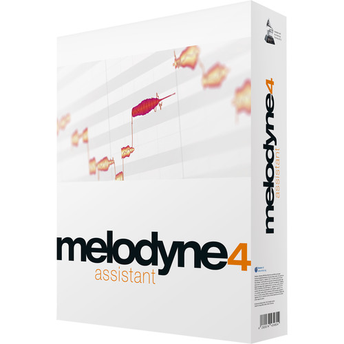 Celemony Melodyne Assistant 4 - Pitch Shifting/Time Stretching Software (Boxed)