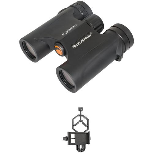Celestron 10x25 Outland X Binocular Digiscoping Kit