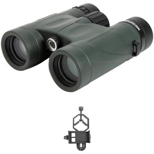 Celestron 10x32 Nature DX Binoculars Digiscoping Kit