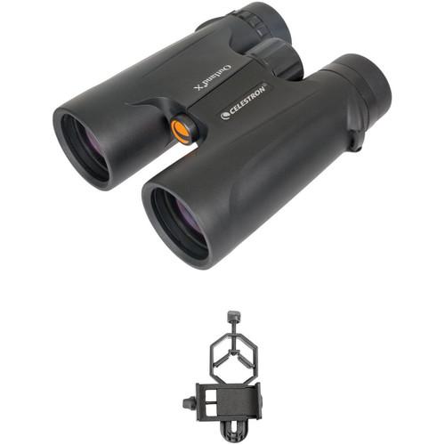 Celestron 10x42 Outland X Binoculars Digiscoping Kit