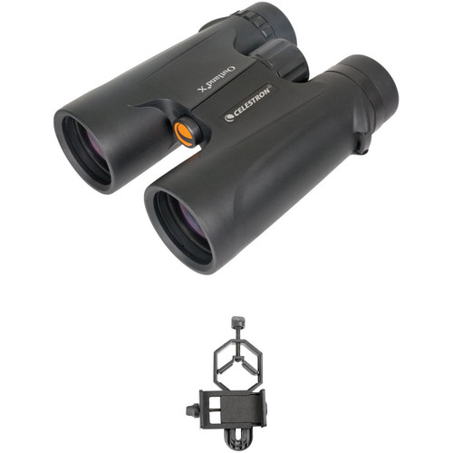 Celestron 10x42 Outland X Binocular Digiscoping Kit