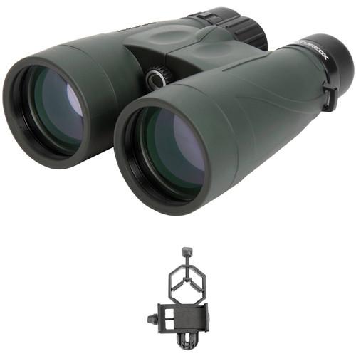 Celestron 10x56 Nature DX Binoculars Digiscoping Kit