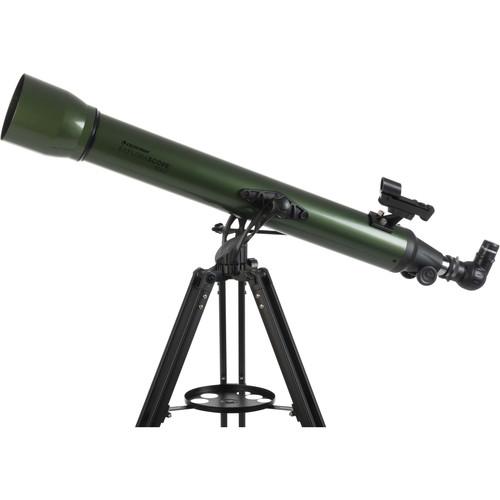Celestron ExploraScope 80AZ 80mm f/11 Alt-Az Refractor Telescope