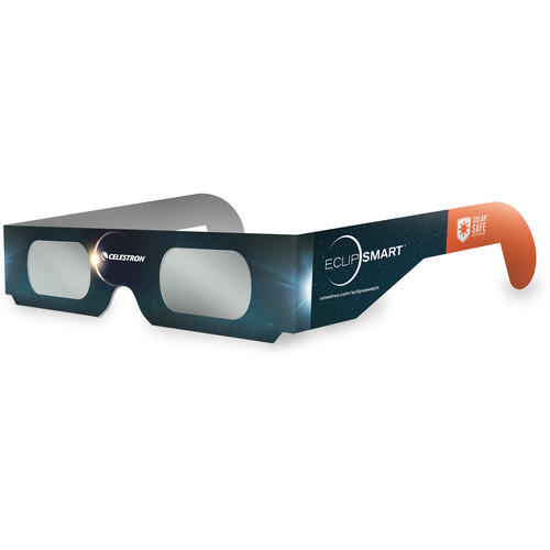 Celestron EclipSMART Solar Shades Paper Solar Viewing Glasses (50-Pack)