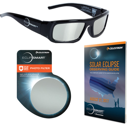 Celestron EclipSmart Deluxe 3-Piece Solar Observing and Imaging Kit