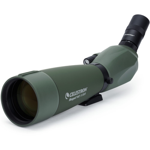 Celestron Regal M2 80ED LER 27x80 Spotting Scope (Angled Viewing)