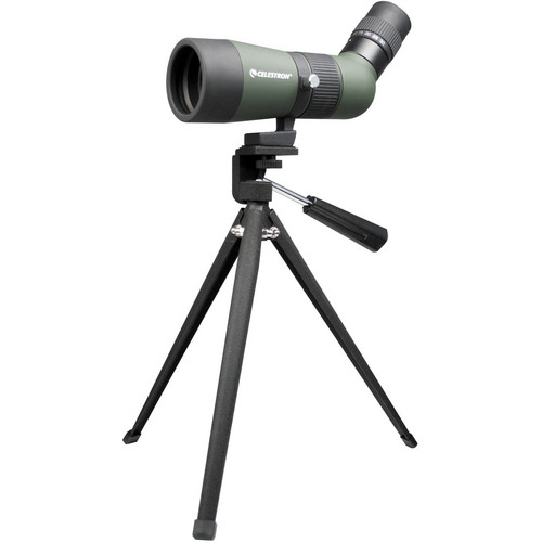 Celestron LandScout 10-30x50 Spotting Scope with Tripod (Angled Viewing)