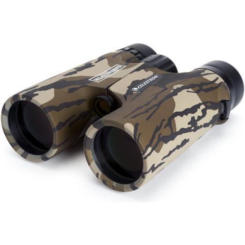 Celestron 10x42 Gamekeeper Roof Prism Binocular (Mossy Oak Bottomland Camo)
