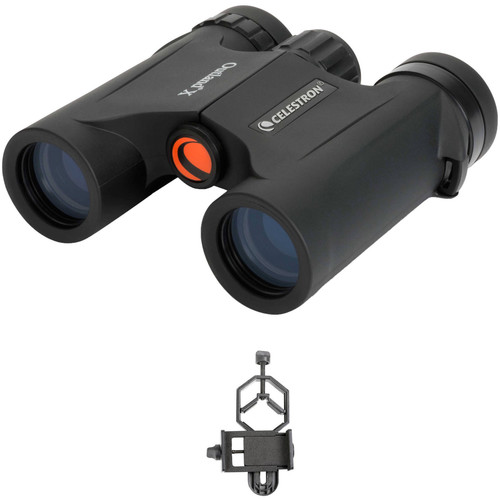 Celestron 8x25 Outland X Binocular Digiscoping Kit