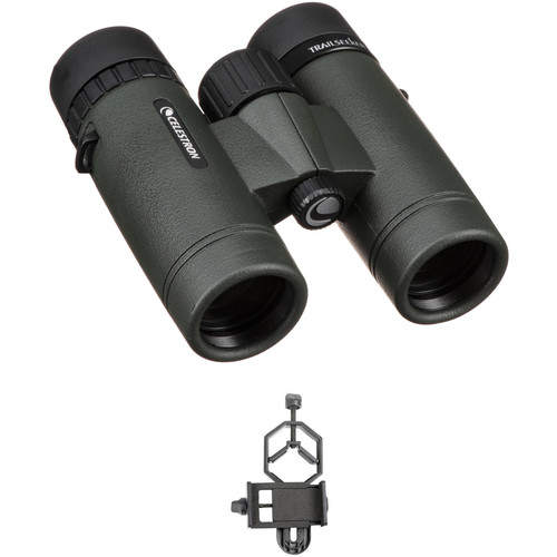 Celestron 8x32 TrailSeeker Binoculars Digiscoping Kit