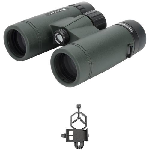 Celestron 8x42 TrailSeeker Binoculars Digiscoping Kit