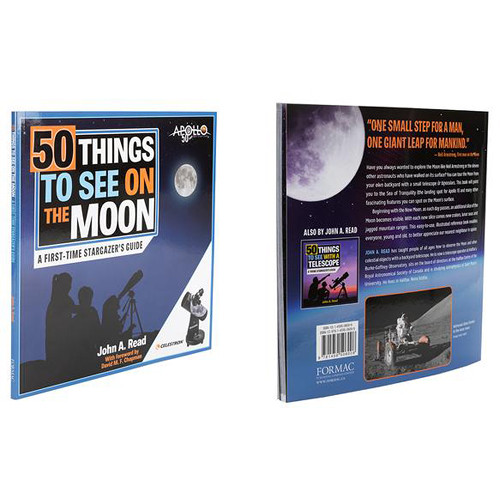 Celestron Book: 50 Things to See on the Moon by John A. Read